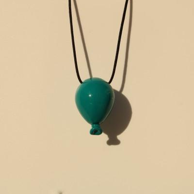 Turquoise Ballon Necklace