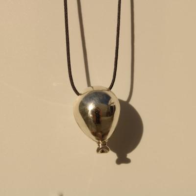 Silver Balloon Necklace