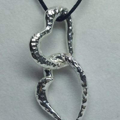 Two Hearts Pefkos Pendant