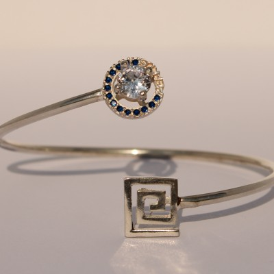 Silver Pefkos Bracelet