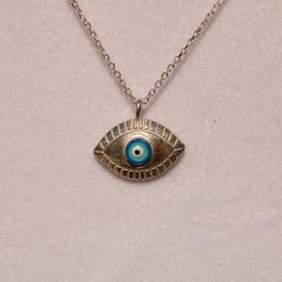 Silver Eye Pendant