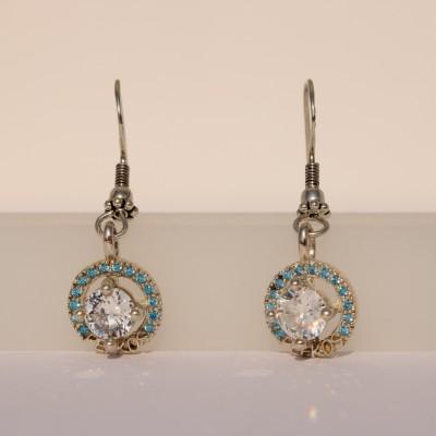 Silver Pefkos Earrings