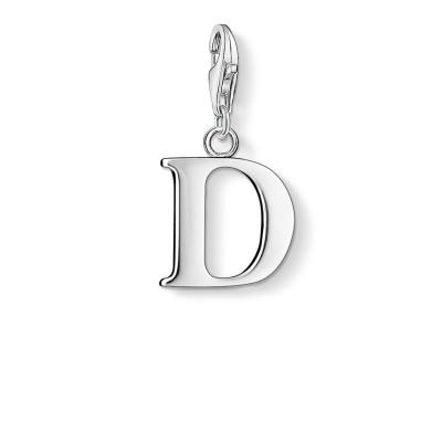 THOMAS SABO Letter D Charm Pendant