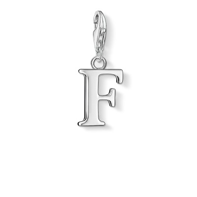THOMAS SABO Letter F Charm Pendant