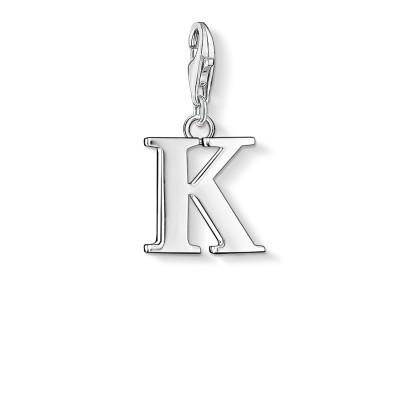 THOMAS SABO Letter K Charm Pendant