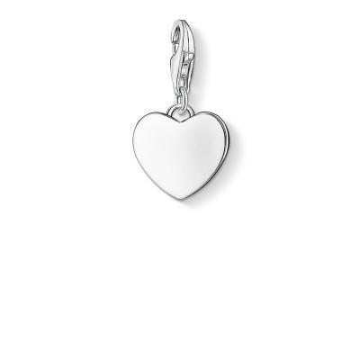 THOMAS SABO Engravable Heart Charm Pendant