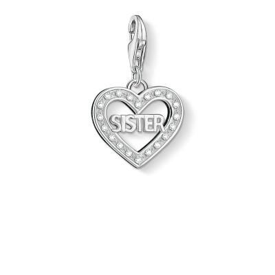 THOMAS SABO Sister Heart Charm Pendant
