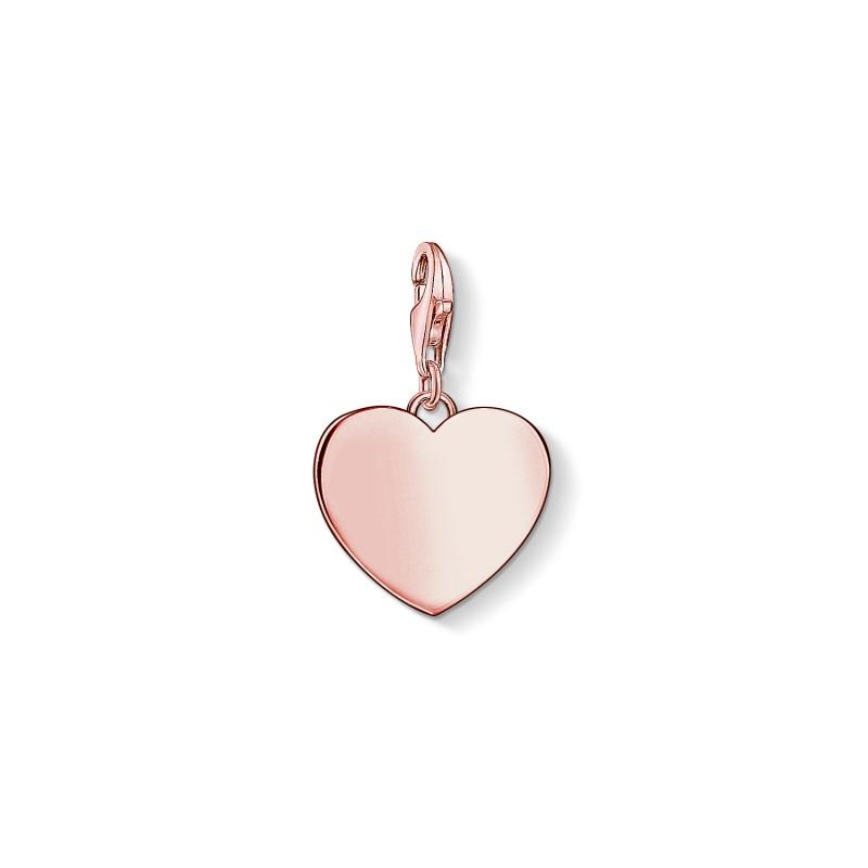 THOMAS SABO Engravable Heart Charm