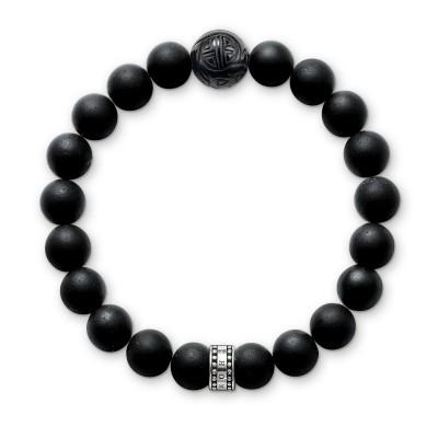 THOMAS SABO Obsidian Bracelet