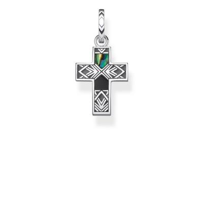 THOMAS SABO Mens Cross Pendant
