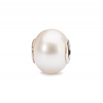 TROLLBEADS White Pearl Charm