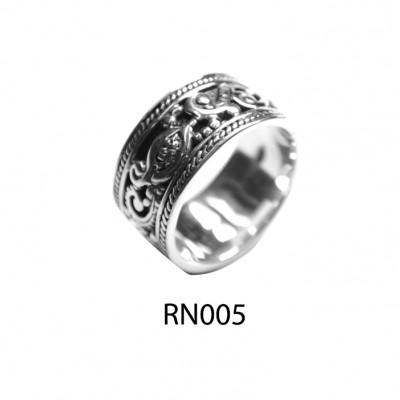 Handmade Mens Silver Ring