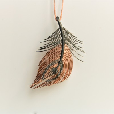 Handmade Greek Peacock Feather